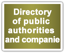 Directory of public authorities and companies
