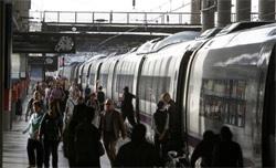 El número de viajeros en trenes AVE aumentó un 3,4 por ciento en septiembre