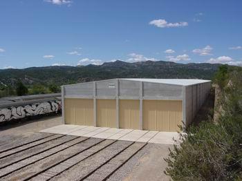 Inaugurada la cochera del Centro de Interpretación del Ferrocarril de Mora la Nova