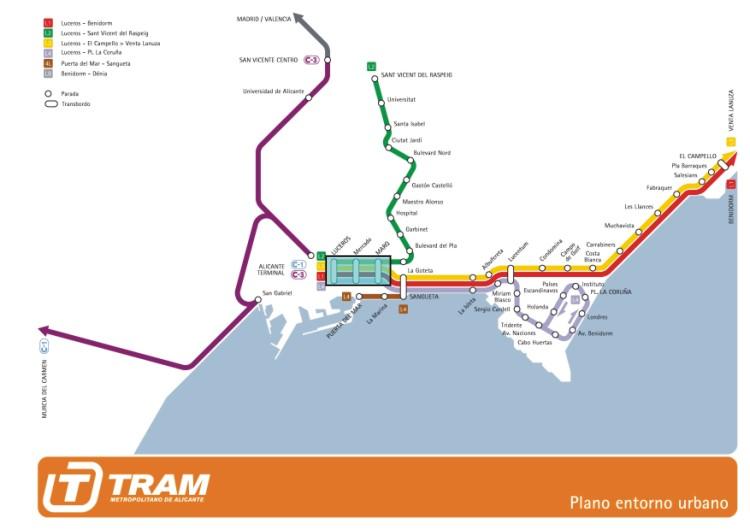 Se Cumplen Seis Anos De La Entrada En Subterraneo Del Tram En El