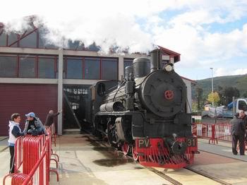 Encendido de la locomotora PV 31