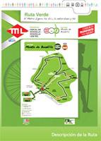 Inaugurada una ruta verde ciclista ligada a la línea 3 de metro ligero en Madrid