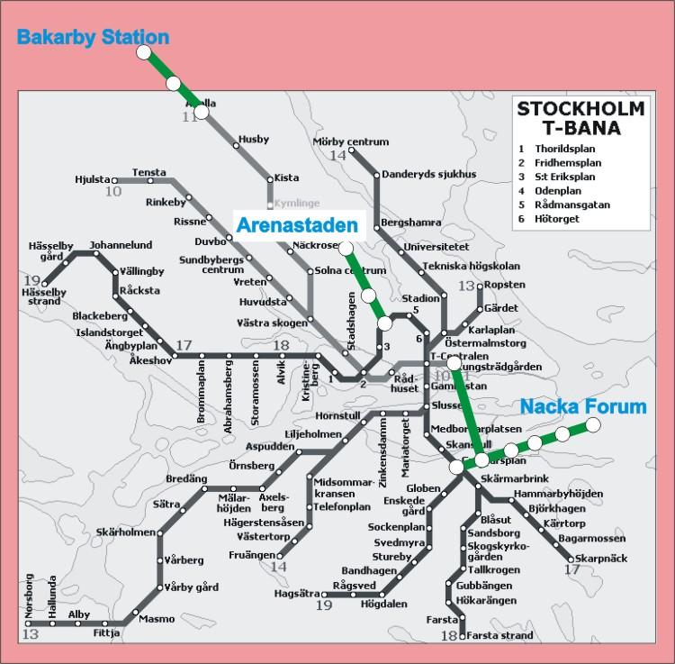 Estocolmo ampliar su red de metro en diecinueve - Metro de estocolmo ...