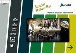 Adif presenta un catálogo para el alquiler de espacios para eventos y rodajes