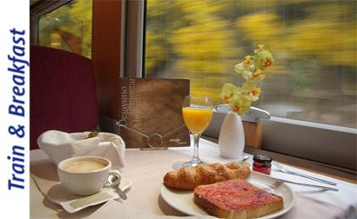 Renfe ofrece el nuevo producto turístico Train & Breakfast