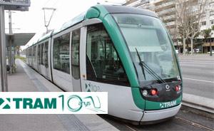 Un tranvía de Barcelona convertido en sala de conciertos