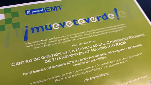 El centro de gesti n del consorcio de transportes de for Oficina del consorcio de transportes de madrid