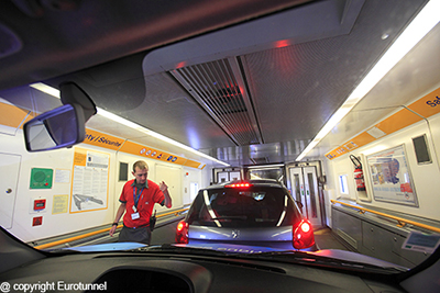 Eurotunnel batió en mayo su récord de transporte de camiones