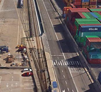 Ampliación de la terminal ferroviaria Príncipe de España del Puerto de Barcelona