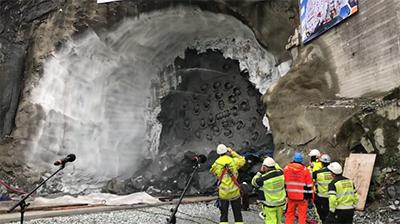 Noruega concluye la perforación del túnel de Ulriken