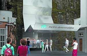 Adjudicadas por 38 millones las obras del tramo Lugaritz-Miraconcha del metro de Donostialdea