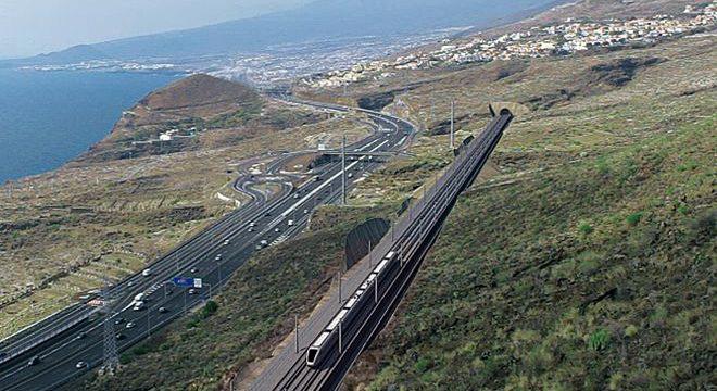 Tenerife reactiva el proyecto del Tren del Sur