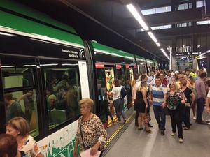 Metro de Granada superó los 2,5 millones de viajeros en sus cien primeros días de explotación comercial