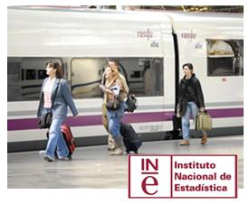El número de viajeros en AVE aumentó un 6,3 en febrero