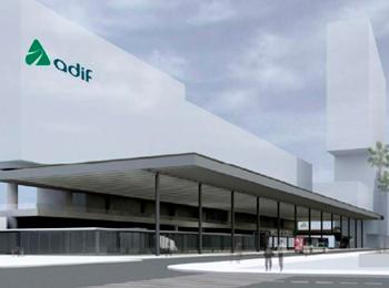 Avances en las obras de accesos de la futura estación intermodal de La Sagrera