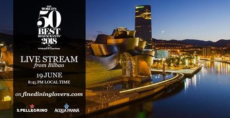 Metro Bilbao acoge la nueva edición del World´s 50 Best Restaurants