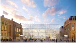 En marcha el proyecto de ampliación de la Estación del Norte de París