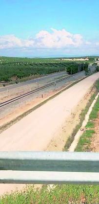 Avances en las obras del tramo Grañena-Jaén, en la línea Madrid-Alcázar de San Juan-Jaén
