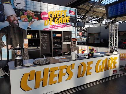 Los Ferrocarriles Franceses celebran la sexta edición de Chefs y Estaciones