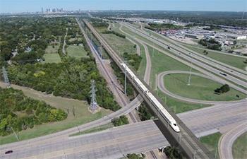 Salini Impreglio lidera el consorcio para construir la línea de alta velocidad Houston - Dallas