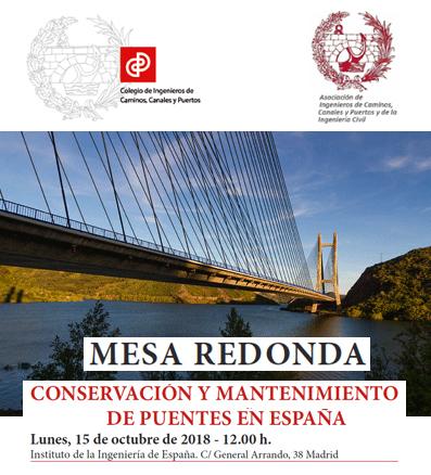 Conservación y mantenimiento de puentes en España