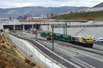 La licitación pública en obra ferroviaria creció un 225,7 por ciento en los nueve primeros meses del año