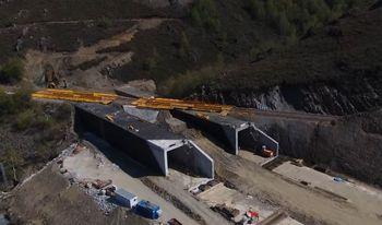 Adjudicaciones por importe de 118,65 millones para la conexión de alta velocidad Madrid-Galicia
