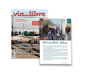 Especial Vía Libre sobre la presencia de industria ferroviaria española en Rail Live 2018