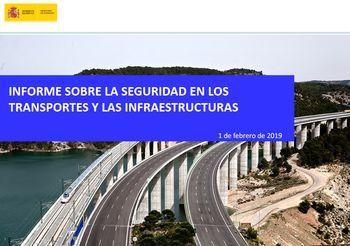 Fomento presenta su Informe sobre la Seguridad en los Transportes y las Infraestructuras
