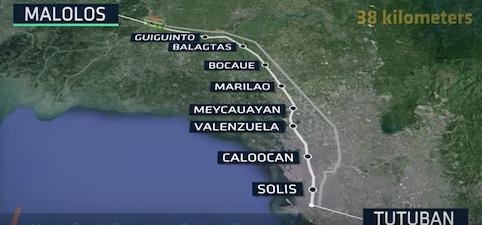 Comienzan las obras del ferrocarril de cercanías Norte-Sur en Manila