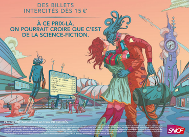 Los Ferrocarriles Franceses lanzan una promoción de billetes inspirada en la ciencia ficción