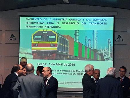 Primer encuentro entre compañías de la industria química, empresas ferroviarias y operadores logísticos