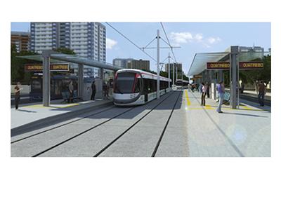 La República de Mauricio pondrá en servicio su primer tranvía en septiembre