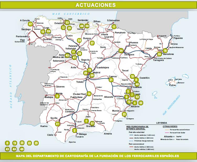 Estacion Tren Leon Mapa.Adjudicaciones Estudios Y Licitaciones En Diciembre De 2019