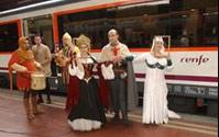 El Tren Medieval a Sigüenza inicia mañana su temporada de otoño