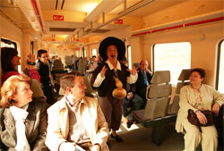 El Tren Medieval a Sigüenza prepara su séptima temporada