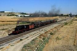 Otoño con vapor en el Tren de la Fresa