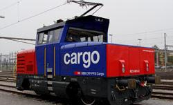 Los Ferrocarriles Suizos ponen en servicio su primera locomotora híbrida