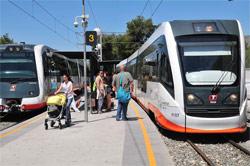 Incremento del 10,5 por ciento de los servicios nocturnos del Tram de Alicante respecto al verano de 2017
