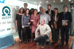 """Vía Libre, """"Premio a la publicación impresa"""" otorgado por la Asociación Española de Editoriales de Publicaciones Periódicas"""