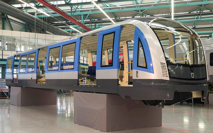 Presentado el nuevo vehículo del Metro de Munich