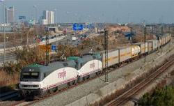 Se recuperan los trenes de contenedores directos Barcelona-Milán