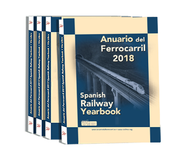 Publicado el Anuario del Ferrocarril 2018 Spanish Railway Yearbook