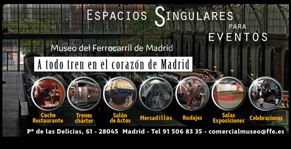 Museo del Ferrocarril Madrid Delicias